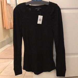 Sanctuary Black Thermal Top